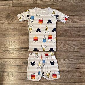 Hanna Andersson Organic Cotton Pajama Shorts Set